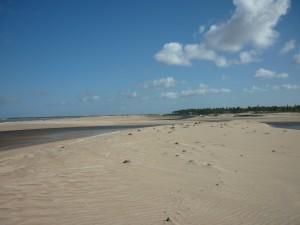 Zumbi praia, le Rio Punau