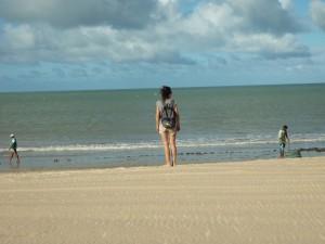 Pêcheurs sur la plage de Perobas, Brésil NordEste