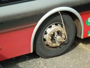 Contrôle permanent de la pression des pneus